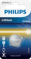 Philips Lithium CR2016 blister 1