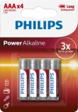 Philips Power Alkaline AAA/LR03 blister 4